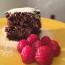 22/2/15 – Torta cioccolato e lamponi