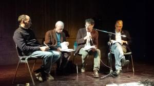 Berzi, Lombardi Vallauri, Lorenzo Guadagnucci, Gianluca Felicetti a Settignano (Firenze) il 18/11/2015