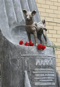 Monumento a Laika