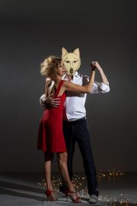 ari balla lupo maschera
