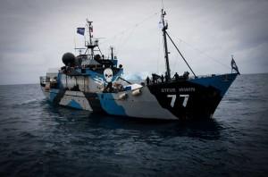 Una delle navi di Sea Shepherd
